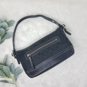 COACH Siganture C Canvas Shoulder Bag